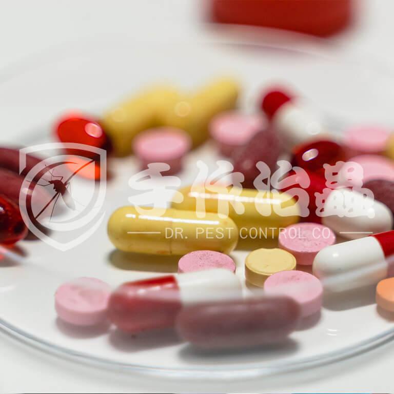 藥廠滅蟲,藥廠滅鼠,Dr Pest手作治蟲製藥業蟲害防治服務03